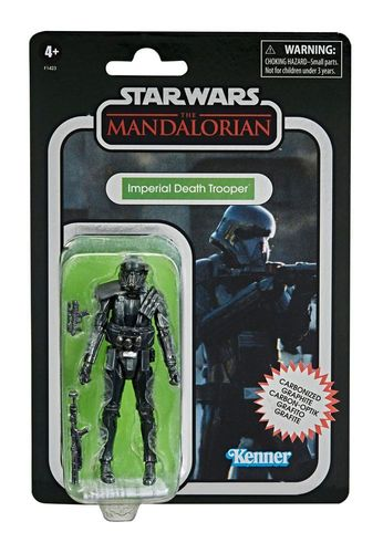 THE VINTAGE COLLECTION - IMPERIAL DEATH TROOPER (CARBONIZED) 3,75""