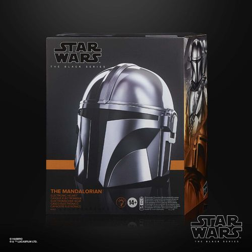 BLACK SERIES THE MANDALORIAN HELM (ELECTRONIC)  1:1