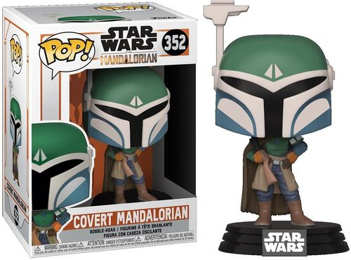 FUNKO POP STAR WARS THE MANDALORIAN - COVERT MANDALORIAN #352