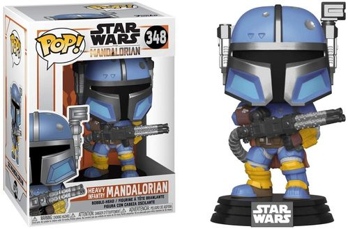 FUNKO POP STAR WARS THE MANDALORIAN - HEAVY INFANTRY MANDALORIAN #348