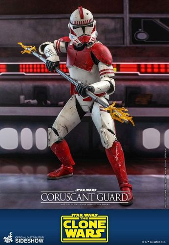 HOT TOYS STAR WARS CORUSCANT GUARD (THE CLONE WARS) 1/6  TMS025