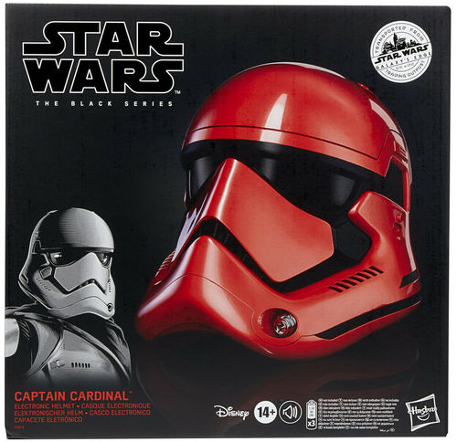BLACK SERIES CAPTAIN CARDINAL HELM (ELEKTRONISCH) 1:1 / GALAXY'S EDGE EXCLUSIVE